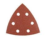 サンドペーパー三角AA60 6穴 (10枚入り)