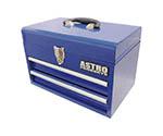 コンパクトツールボックス 2段ベアリング ブルー