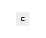ステンシル C 文字サイズ50×40mm