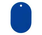 Number Plate Machine plain 25 sheets Blue BF41BU