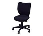 オフィスチェア ミドルバックタイプ ブラック BITBX45L0FBKBK