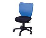 オフィスチェア ミドルバックタイプ ブルー・ブラック BITBX45L0FBLBK