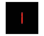 ライトスティック レッド 1.5インチ