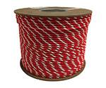 アクリル紅白ロープ 6mm×200m