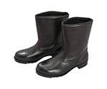 ゴム底安全靴 半長靴 V2400N 23.5CM
