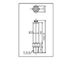 Pyrani Vacuum Gauge Head (R 3/8) WP03