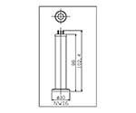 Pyrani Vacuum Gauge Head (NW 16) WP16