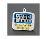タイマー(温度計付・デジタル) 85x69x14mm