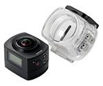 [取扱停止]半天球360度カメラ ACAM-VRS01BK