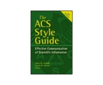 The ACS Style Guide 978-0-8412-3999-9