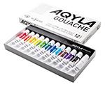 アキーラガッシュ12色セット(紙箱)