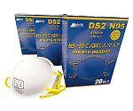 高機能 使い捨て式防塵マスク(20枚入) MK910-N95DS2