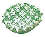 紙カップ ココケース 丸型(500枚入) 6号深 緑 XAZ3704