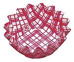 紙カップ ココケース 丸型(500枚入) 6号深 赤 XAZ3705