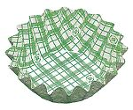 紙カップ ココケース 丸型(500枚入) 8号深 緑