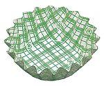 紙カップ ココケース 丸型(500枚入) 10号深 緑 XAZ3716