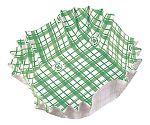 紙カップ ココケース 正角(500枚入) 緑 XAZ3901