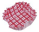 紙カップ ココケース 正角(500枚入) 赤 XAZ3902