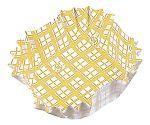 紙カップ ココケース 正角(500枚入) 黄 XAZ3903
