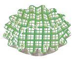 紙カップ ココケースひまわり 500枚入 小 緑 XAZ4101