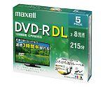 日立マクセル 録画用DVDR 片面二層式 ワイドホワイトプリンタブル