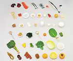 フードモデル43 ビタミン・ミネラルを多く含む食品