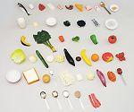 フードモデル52 6つの基礎食品群モデル(50種)