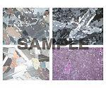 プレパラート 岩と鉱物