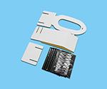 子供用段ボールトイレ(アルミ袋入り凝固剤&汚物袋5回分付)