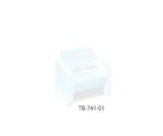 マナティー(01) TB-741-01 幅44(全幅60)×長さ75(座面55)×高さ43(全高80)cm