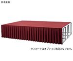 折りたたみ式アルミ製ステージH900(カーペット付) Dセット