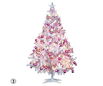 ホワイトピンクツリーセット