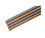 RS 20 Way Unscreened Flat Ribbon Cable, 25.4 mm Width, 10m and others