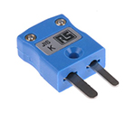 RS PRO IEC Miniature In-Line Socket Connector for use with Type K Thermocouple Type K, Miniature and others