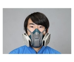 Absorption can exchange type gas mask [2-can Type] and others