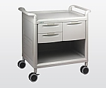 Mobile Store Cart Shallow Type 2 Pieces, Deep Type 1 Piece MS24B