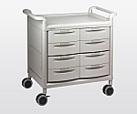Mobile Store Cart Shallow Type 8 Pieces MS24D