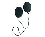 私のミミ (補聴耳カバー) ブラック WM-004