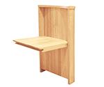 壁付け折りたたみ椅子