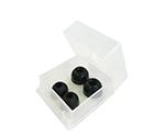 バイタルナビ聴診器 交換用部品 ソフトイヤピースセット ブラック