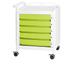 Mobile Multi Cart Single Handle Green and others