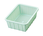 Plastic Square Shape Basket Shallow Type Small and others