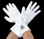 手袋(耐薬剤・ポリウレタン・メリヤス裏) [LL]