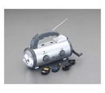 [取扱停止]非常用ライト/LED(手廻し発電/ラジオ付) EA758-16