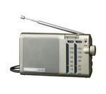 [取扱停止]164×89×37mmFM/AM薄型ラジオ EA763BB-16A