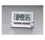 101×160×55mm [電波]置時計・ソーラー電源