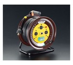 単相AC200V/15A/30m電工ドラム(ブレーカー式)