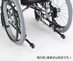ティルト車椅子用転倒防止装置