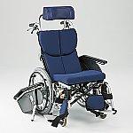 リクライニング車椅子 (オアシス式/アルミ製/チルト)