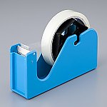 つまみ部分が作りやすいテープカッター ブルー